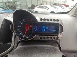 2012 Holden Barina TM Blue 6 Speed Automatic Sedan
