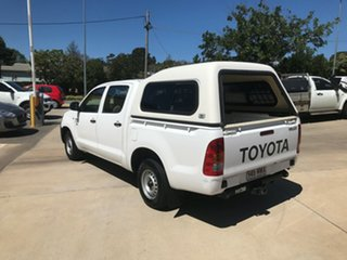 2007 Toyota Hilux TGN16R MY07 Workmate 4x2 White 5 Speed Manual Utility
