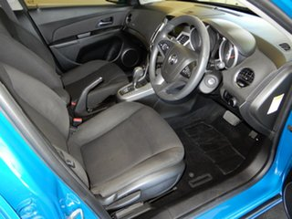 2012 Holden Cruze JH MY12 Equipe Blue 6 Speed Automatic Hatchback