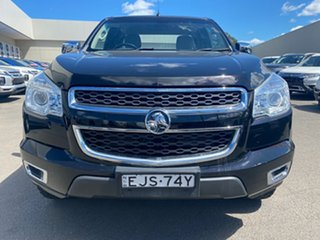 2012 Holden Colorado RG MY13 LTZ Space Cab Black 5 Speed Manual Utility.