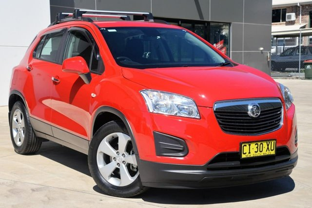 Used Holden Trax TJ MY16 Active, 2016 Holden Trax TJ MY16 Active Red 6 Speed Automatic Wagon