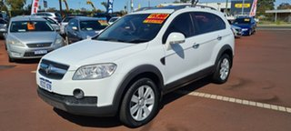 2010 Holden Captiva CG MY10 LX AWD White 5 Speed Sports Automatic Wagon