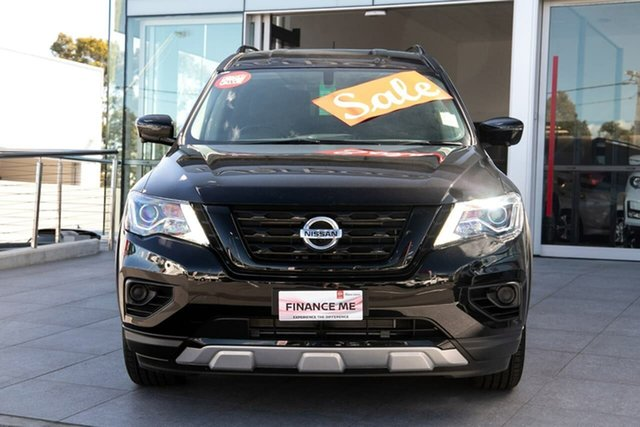 New Nissan Pathfinder R52 Series III MY19 ST+ X-tronic 2WD N-TREK, 2019 Nissan Pathfinder R52 Series III MY19 ST+ X-tronic 2WD N-TREK Diamond Black 1 Speed