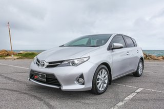 2013 Toyota Corolla ZRE182R Ascent Sport Silver 6 Speed Manual Hatchback.