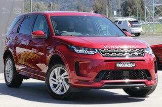 2019 Land Rover Discovery Sport L550 20MY R-Dynamic S Firenze Red 9 Speed Sports Automatic Wagon.