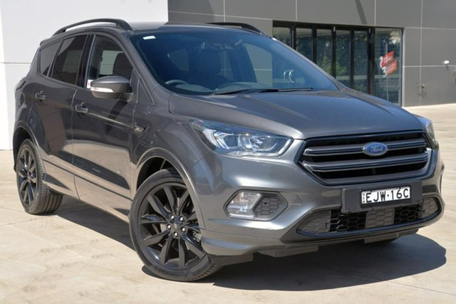Used Ford Escape ZG 2018.75MY ST-Line, 2018 Ford Escape ZG 2018.75MY ST-Line Grey 6 Speed Sports Automatic SUV