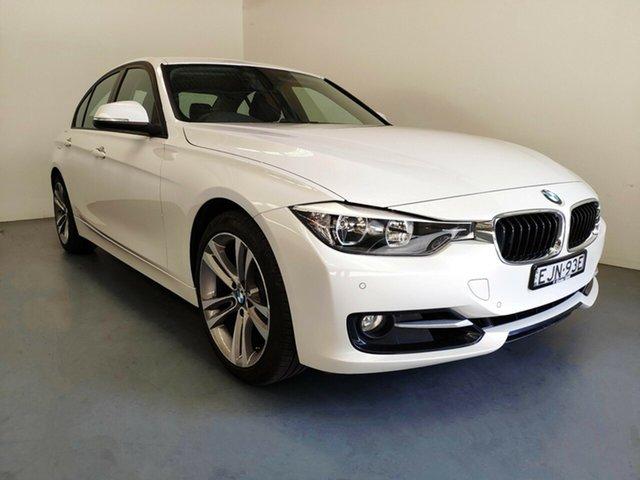 Used BMW 3 Series F30 MY1114 320i Sport Line, 2014 BMW 3 Series F30 MY1114 320i Sport Line Mineral White 8 Speed Sports Automatic Sedan