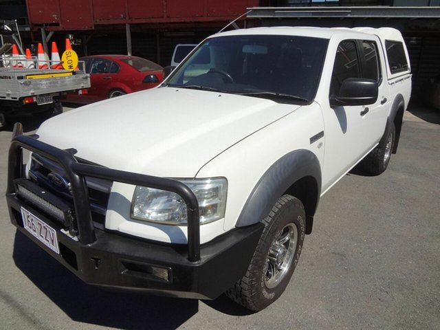 Used Ford Ranger PJ XL (4x2) Coopers Plains, 2007 Ford Ranger PJ XL (4x2) White 5 Speed Manual Dual Cab Pick-u
