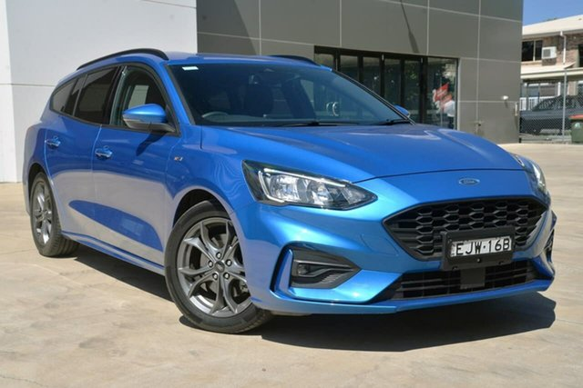 Used Ford Focus SA 2019.75MY ST-Line, 2019 Ford Focus SA 2019.75MY ST-Line Blue 8 Speed Automatic Wagon