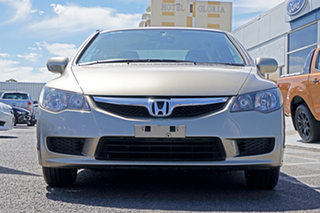 2008 Honda Civic 8th Gen MY08 VTi Beige 5 Speed Automatic Sedan.