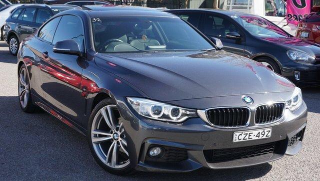 Used BMW 4 Series F32 420i M Sport, 2015 BMW 4 Series F32 420i M Sport Grey 8 Speed Sports Automatic Coupe