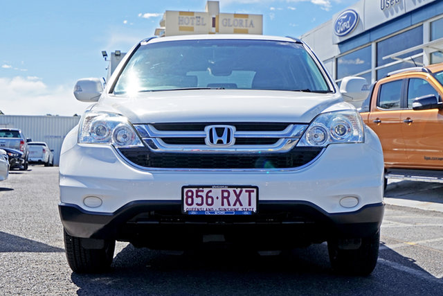 Used Honda CR-V RE MY2011 4WD, 2011 Honda CR-V RE MY2011 4WD White 5 Speed Automatic Wagon