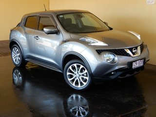 2016 Nissan Juke F15 Series 2 TI-S (AWD) Grey Continuous Variable Wagon.