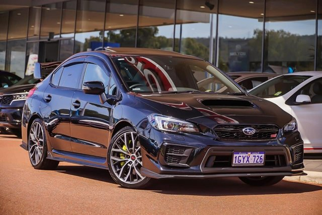 Used Subaru WRX V1 MY20 STI AWD Premium, 2020 Subaru WRX V1 MY20 STI AWD Premium Black 6 Speed Manual Sedan