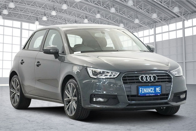 Used Audi A1 8X MY17 Sport Sportback S Tronic, 2016 Audi A1 8X MY17 Sport Sportback S Tronic Grey 7 Speed Sports Automatic Dual Clutch Hatchback