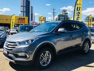 2017 Hyundai Santa Fe DM4 MY18 Active Grey 6 Speed Sports Automatic Wagon.