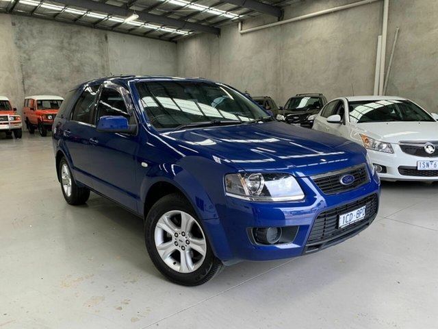 Used Ford Territory SY MkII TX, 2010 Ford Territory SY MkII TX Blue 4 Speed Sports Automatic Wagon