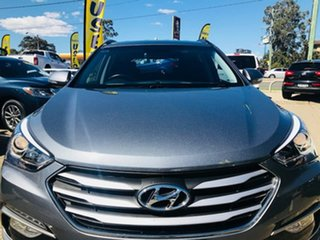 2017 Hyundai Santa Fe DM4 MY18 Active Grey 6 Speed Sports Automatic Wagon
