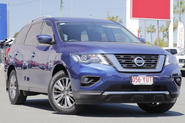 Used Nissan Pathfinder R52 Series III MY19 ST-L X-tronic 2WD, 2019 Nissan Pathfinder R52 Series III MY19 ST-L X-tronic 2WD Blue 1 Speed Constant Variable Wagon