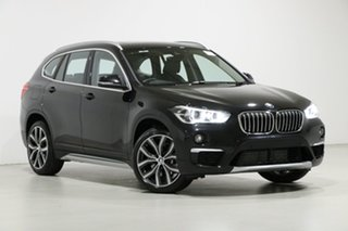 2019 BMW X1 F48 LCI xDrive 25I Black 8 Speed Automatic Wagon.