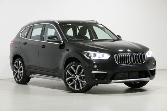 Used BMW X1 F48 LCI xDrive 25I, 2019 BMW X1 F48 LCI xDrive 25I Black 8 Speed Automatic Wagon