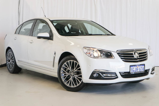 Used Holden Calais VF II MY17 , 2017 Holden Calais VF II MY17 White 6 Speed Sports Automatic Sedan