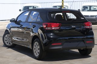 2020 Kia Rio YB MY20 S Aurora Black Pearl 4 Speed Sports Automatic Hatchback.