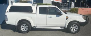 2009 Ford Ranger PJ XL Crew Cab White 5 Speed Automatic Double Cab Pick Up.