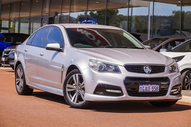 Used Holden Commodore VF II MY16 SV6, 2015 Holden Commodore VF II MY16 SV6 Silver 6 Speed Sports Automatic Sedan