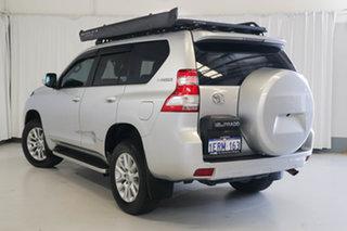 2015 Toyota Landcruiser Prado KDJ150R MY14 VX Silver 5 Speed Sports Automatic Wagon.