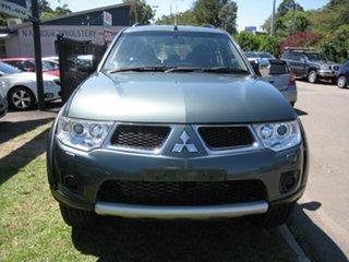 2009 Mitsubishi Challenger PB LS (5 Seat) (4x4) Green 5 Speed Automatic Wagon.