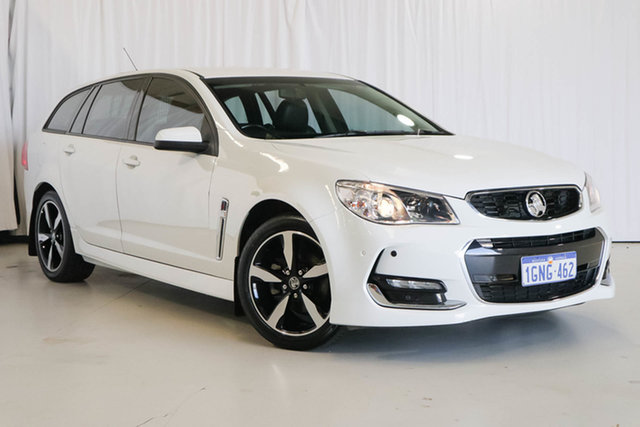 Used Holden Commodore VF II MY17 SV6 Sportwagon, 2017 Holden Commodore VF II MY17 SV6 Sportwagon White 6 Speed Sports Automatic Wagon