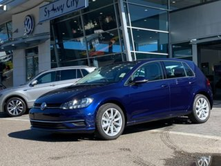 2020 Volkswagen Golf 7.5 MY20 110TSI DSG Comfortline Blue 7 Speed Sports Automatic Dual Clutch.