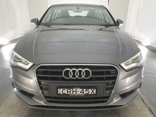 2013 Audi A3 8V MY14 Ambition S Tronic Grey 7 Speed Sports Automatic Dual Clutch Sedan.