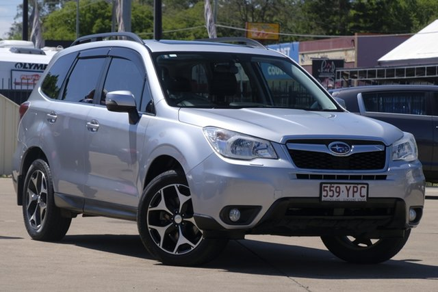 Used Subaru Forester S4 MY14 2.0D-S AWD, 2014 Subaru Forester S4 MY14 2.0D-S AWD Silver 6 Speed Manual Wagon