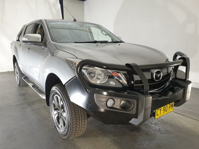 Used Mazda BT-50 UR0YF1 GT, 2016 Mazda BT-50 UR0YF1 GT Silver 6 Speed Manual Utility