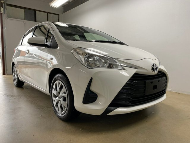 Used Toyota Yaris NCP130R MY18 Ascent, 2018 Toyota Yaris NCP130R MY18 Ascent White 4 Speed Automatic Hatchback