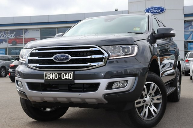 Demo Ford Everest UA II 2020.75MY Trend Deer Park, 2020 Ford Everest UA II 2020.75MY Trend Meteor Grey 6 Speed Sports Automatic SUV