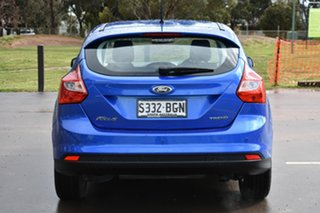 2015 Ford Focus LW MkII MY14 Trend Blue 5 Speed Manual Hatchback