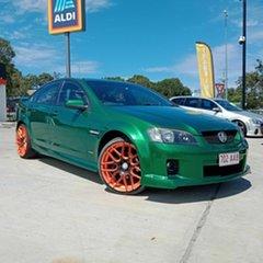 2010 Holden Commodore VE MY10 SV6 Green Sedan.