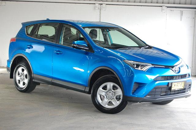 Used Toyota RAV4 ASA44R GX AWD, 2017 Toyota RAV4 ASA44R GX AWD Blue 6 Speed Sports Automatic Wagon