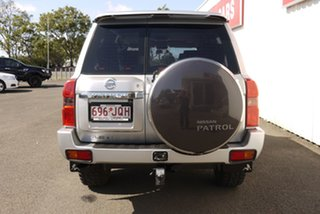 2006 Nissan Patrol GU IV MY06 TI Silver 5 Speed Sports Automatic Wagon