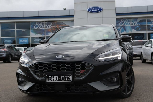 Demo Ford Focus SA 2020.25MY ST, 2020 Ford Focus SA 2020.25MY ST Agate Black 7 Speed Automatic Hatchback
