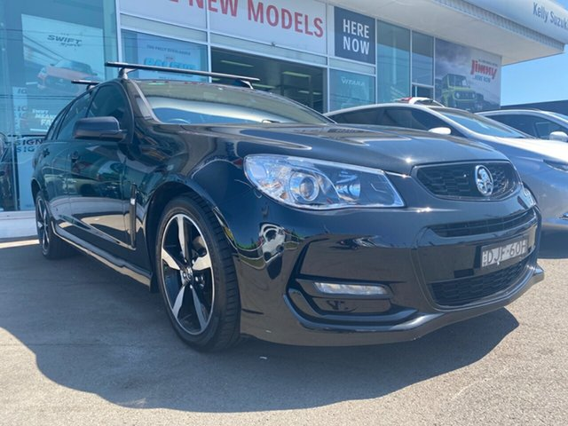 Used Holden Commodore VF II MY16 SV6 Sportwagon Black, 2016 Holden Commodore VF II MY16 SV6 Sportwagon Black Black 6 Speed Sports Automatic Wagon