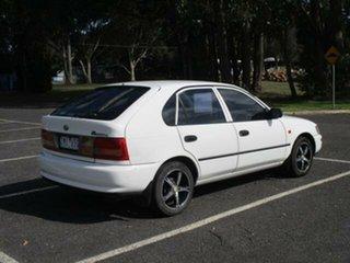 1998 Toyota Corolla AE101R White Automatic Hatchback.