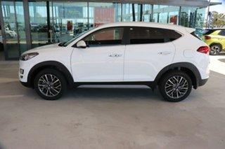 2020 Hyundai Tucson TL3 MY21 Elite 2WD Pure White 6 Speed Automatic Wagon.