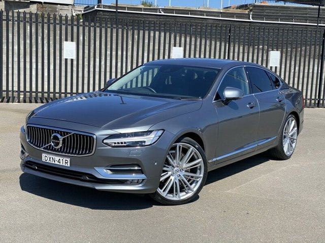 Used Volvo S90 P Series MY17 T6 Geartronic AWD Inscription Newcastle, 2017 Volvo S90 P Series MY17 T6 Geartronic AWD Inscription Grey 8 Speed Sports Automatic Sedan