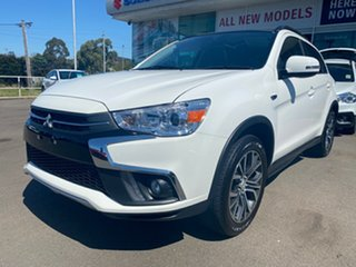 2019 Mitsubishi ASX XC MY19 Exceed 2WD White 1 Speed Constant Variable Wagon.