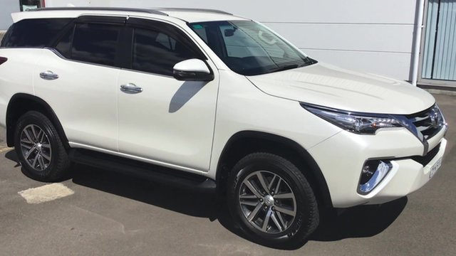Used Toyota Fortuner GUN156R Crusade, 2018 Toyota Fortuner GUN156R Crusade White 6 Speed Automatic Wagon