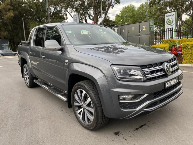 Used Volkswagen Amarok 2H MY19 TDI580 4MOTION Perm Ultimate, 2019 Volkswagen Amarok 2H MY19 TDI580 4MOTION Perm Ultimate Grey 8 Speed Automatic Utility